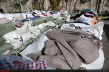 کشف پوشاک و DVD جاسازی شده قاچاق در تانکر گاز در بهبهان