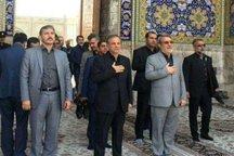 وزیر کشور به حرم منور امام رضا(ع) مشرف شد