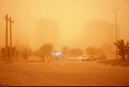 گرد و غبار شعاع دید در ماهشهر را به 200 متر کاهش داد  آلودگی هوا رو به بهبود است