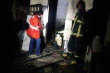 پیرمرد 70ساله بجنوردی در آتش سوخت