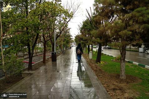 خیابانها و مکانهای خوش آب و هوای تهران در فصل بهار
