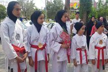 بانوان فسایی مدال آور در مسابقات آسیایی تقدیر شدند