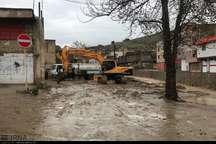 351 مورد آبگرفتگی توسط آتش نشانی خرم آباد رفع شد