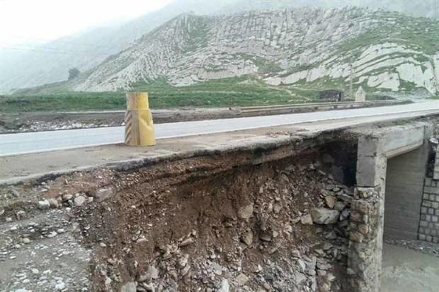 بارش ها به راه های روستایی زنجان خسارت زد