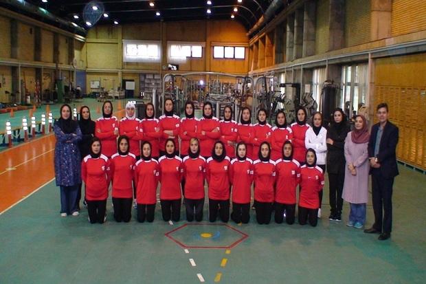 اردوی تیم ملی هاکی بانوان در قزوین آغاز شد