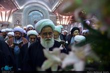 تجدید میثاق اساتید حوزه علمیه تهران با آرمان های حضرت امام خمینی(س)