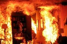 آتشسوزی یک منزل مسکونی در کیانشهر اهواز