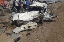 هشت نفر بر اثر تصادف در قزوین مصدوم شدند