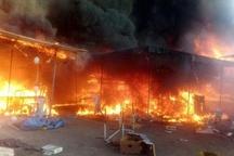 ابراز همدردی شورای شهر کرج با خسارت دیدگان آتشسوزی بازارچه پونه