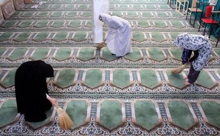 175 مسجد در شهرستان سپیدان غبار روبی شد