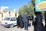 اعتراض خانواده های کارگران مجتمع فسفات بافق مقابل فرمانداری یزد