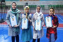 برترینهای مسابقات بدمینتون دختران نونهال یزد معرفی شدند