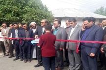 بهره برداری از 5 پروژه راهسازی در شهرستان رودبار