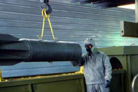 زرادخانه شیمیایی روسیه نابود خواهد شد