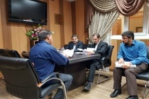دیدار دادیار ناظر بر زندانهای اهواز با مددجویان زندان سپیدار