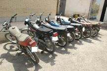 سارقان حرفهای موتورسیکلت در شاهین دژ دستگیر شدند