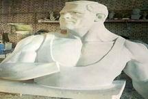تندیس پهلوان وفا در مشهد نصب شد