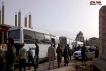 دو شهرک دیگر در نزدیکی دمشق خالی از افراد مسلح شد