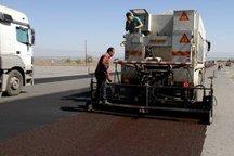 روکش آسفالت حفاظتی در 45 کیلومتر از راههای بشرویه اجرا شد