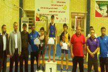 نونهالان گناوه قهرمان کشتی چهارجانبه استان بوشهر شدند
