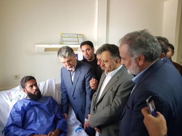 وزیر ارشاد از مصدومان حادثه تروریستی چابهار عیادت کرد