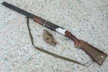 یک شکارچی متخلف در کاشان دستگیر شد