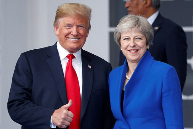 حمله کنایه آمیز ترامپ به نخست وزیر انگلیس: جانسون میتواند نخست وزیر خوبی شود!