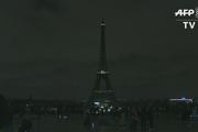 چراغهای برج ایفل به نشانه همبستگی با قربانیان حمله تروریستی نیوزیلند خاموش شد