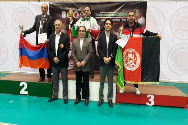 قزوین در مسابقات بین المللی کاراته خوش درخشید