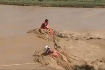 پبکیر 2 سرباز وظیفه مرزبانی میرجاوه گرفتار سیلاب کشف شد