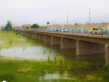 مطالعات نقشه برداری و حریم رودخانه هلیل رود جیرفت انجام شد