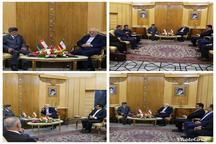 دیدار وزیر خارجه عمان با ظریف
