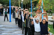 ایستگاه های ورزش صبحگاهی شهر اصفهان افزایش یافت