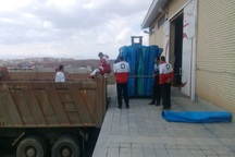 کمک های هلال احمر اردبیل به مناطق سیل زده ارسال شد