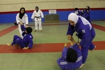 اردوی تیم ملی کوراش بانوان در یزد آغاز شد