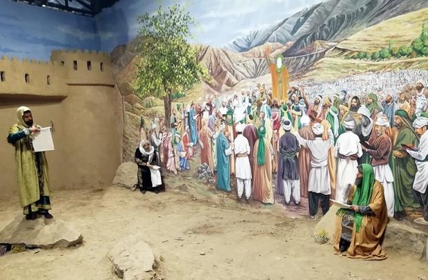 بخشی از موزه زنده زیارت در مشهد افتتاح شد