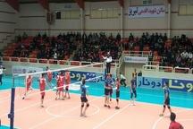 تیم والیبال شهرداری تبریز از سد شهروند اراک گذشت