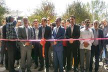 افتتاح و بهره برداری از 32 پروژه عمرانی در بخش خمام