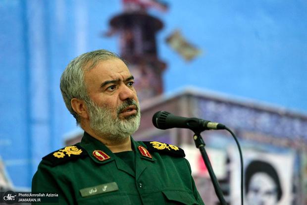 سردار فدوی: در ناآرامیهای اخیر بسیج و سپاه اسلحه نداشتند