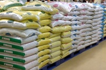 ذخیره 130  تن برنج وارداتی در کردستان