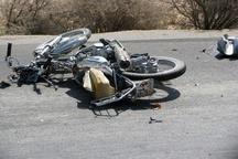 مرگ جوان 23 ساله موتور سوار در محور بیرجند-زاهدان