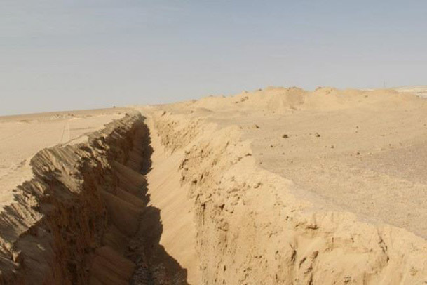 مناقصه حفر خندق دور موصل از سوی داعش