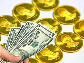 کاهش قیمت سکه و ثبات نرخ دلار در بازار