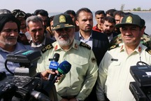 فرمانده ناجا:مشکل امنیتی در مناطق سیل زده خوزستان وجود ندارد