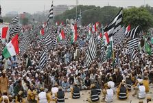 مخالفان دولت پاکستان تظاهرات خود را پایان دادند
