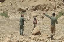 تجهیزات حفاظتی بین محیط بانان کهگیلویه و بویراحمد توزیع شد