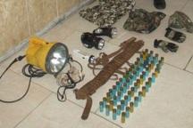 دستگیری 2 شکارچی غیرمجاز در آوج