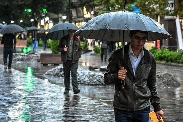 بارش باران و باد شدید از عصر امروز در مازندران