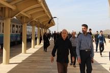 روزانه یکهزار زائر با راه آهن ملایر- کرمانشاه تردد می کنند