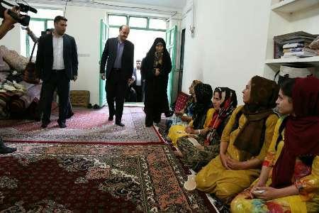رئیس سازمان میراث فرهنگی کشور از روستای گردشگری نوره سنندج بازدید کرد